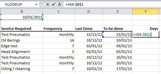 Expert Excel Help – Tracking Schedules with Conditional